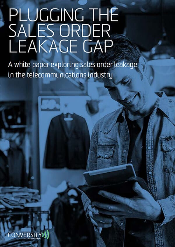 Sales Order Leakage White Paper