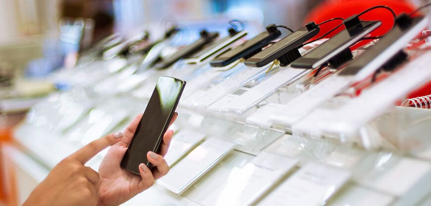 Telecoms companies personalised customer experience